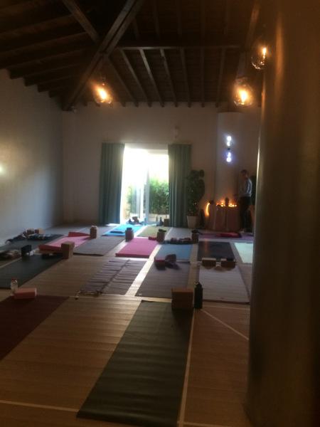cours de Yoga en musique