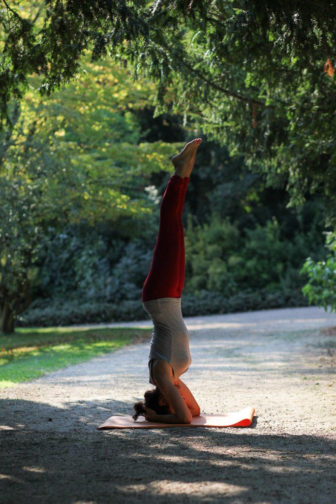une belle position de yoga parfaite
