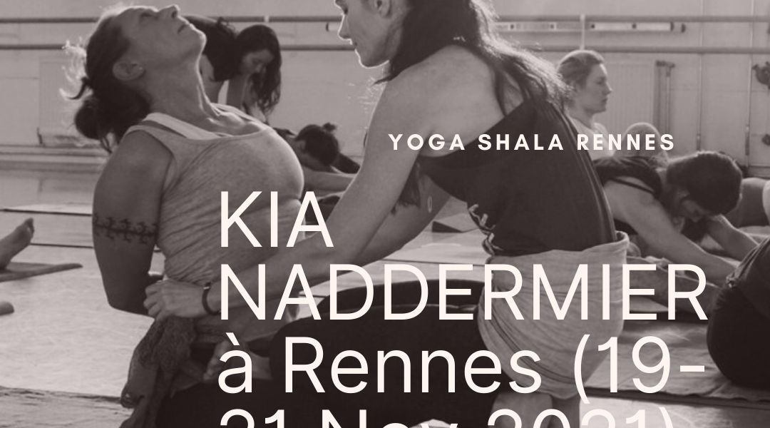 Workshop avec Kia Naddermier | 19/21 Novembre 2021