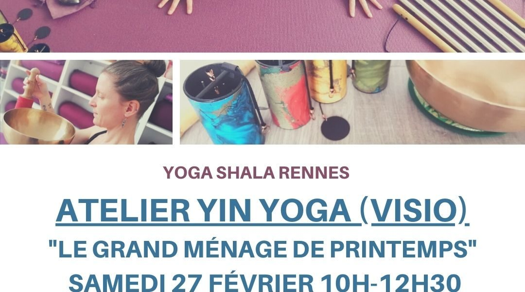 NOUVEL Atelier Yin Yoga (visio), animé par Anne Carlier !