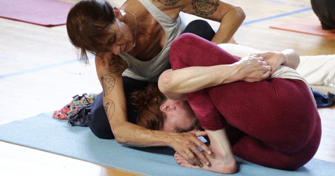 Yoga Shala interviewe…Annick Goueslain